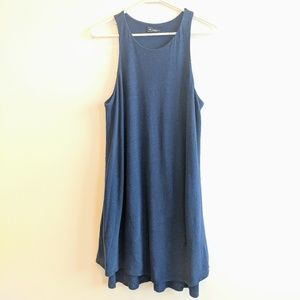 GAP blue linen and cotton sleeveless dress M